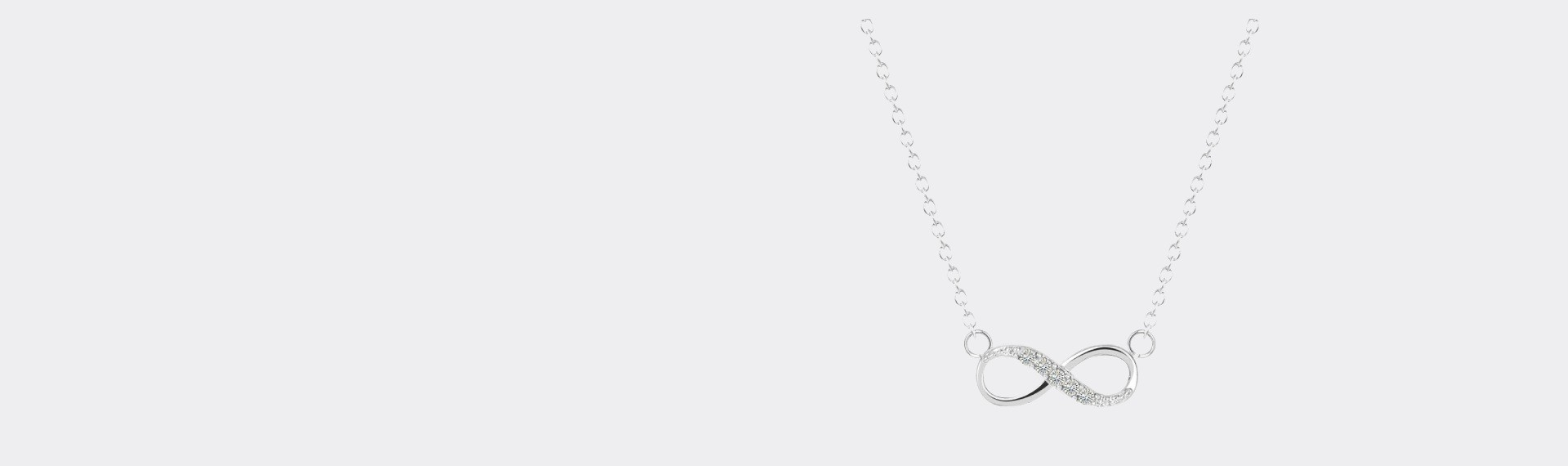 CUTE INFINITY NECKLACE